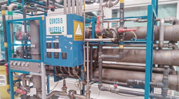 Coca-Cola FEMSA, Reverse Osmosis Plant